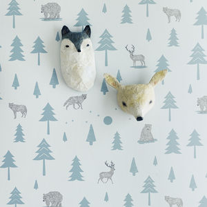 Into The Wild Wallpaper - less ordinary children's room