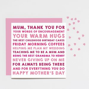 Personalised 'Thank You' Card - cards & wrap