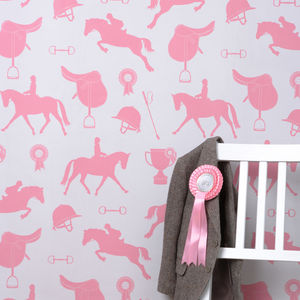 Gymkhana Wallpaper - baby's room