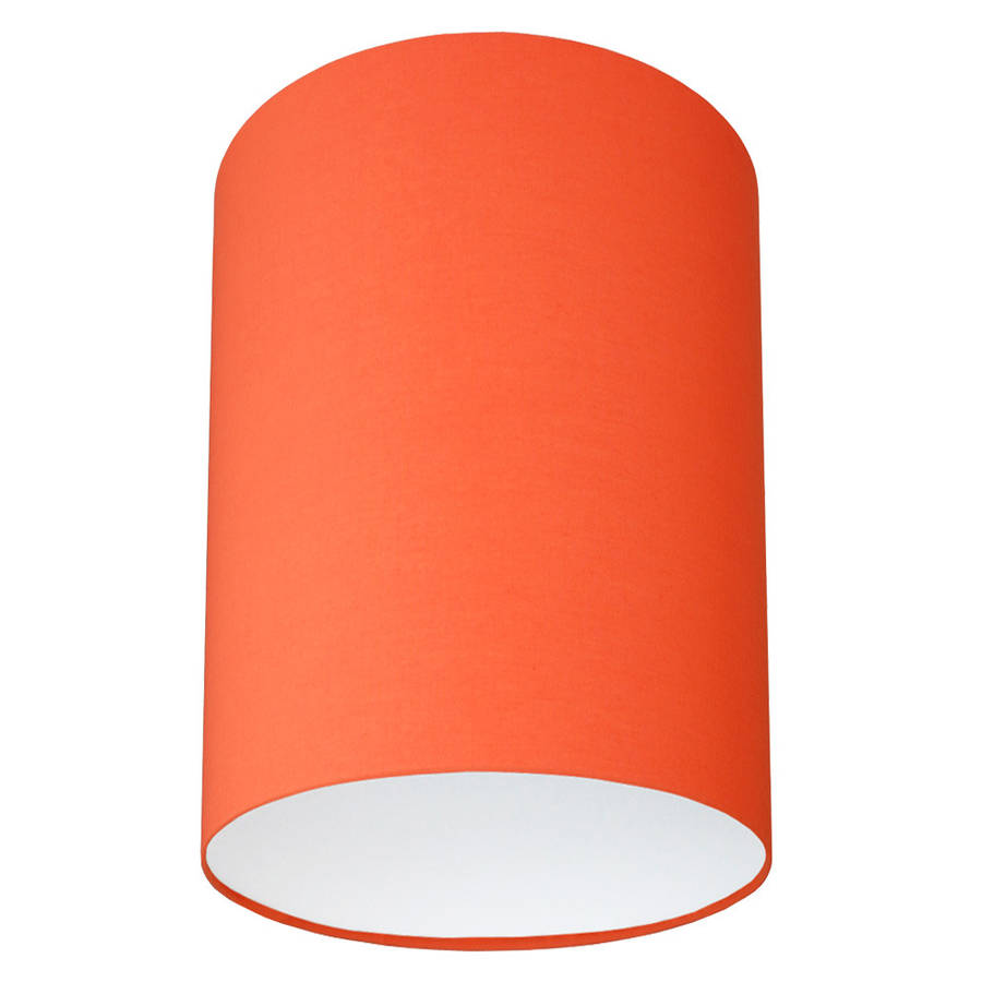 plain bright coloured lampshade 40 colours by quirk ...