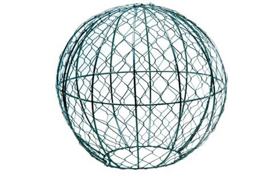 Topiary Ball Metal Frame Globe By Garden Selections