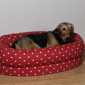 Memory Foam Snuggle Dog Bed - dogs