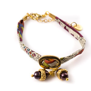 Pearl Charm Liberty Bracelet