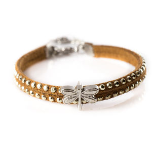 Studded Charm Bangle - children's jewellery
