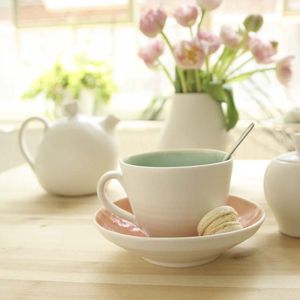 Handmade Cup / Saucer - as seen in the press