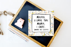 'Mama I Love You…' Spice Girls Mothers Day Card