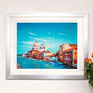View From Accademia, Venice Print - posters & prints