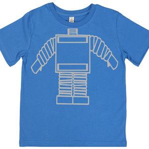 Child's Robot Body T Shirt