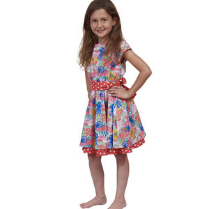 Fishy Girls Party Dress - flower girl fashion