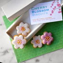 Cherry Blossom Biscuits