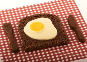 Chocolate Egg On Toast - chocolates