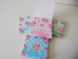 Rose Print Mini Matchbook Nail Files