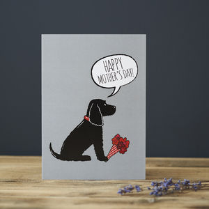 Cocker Spaniel Mother's Day Card