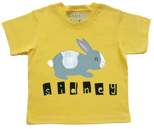 Personalised Baby Easter T Shirt - less ordinary easter ideas