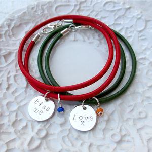Personalised Sterling Silver Charm Bracelet