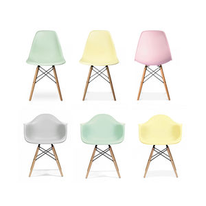 Dining Chair Pastel Pair Set Of Two - chairs