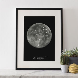 Constellation Prints - best for birthdays