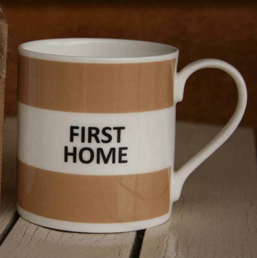 'First Home' Fine Bone China Mug