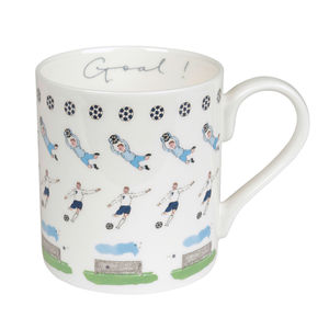 Football China Sports Mug - crockery & chinaware