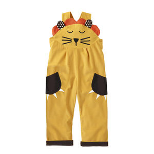 Lion Costume Dungaree - children's dungarees