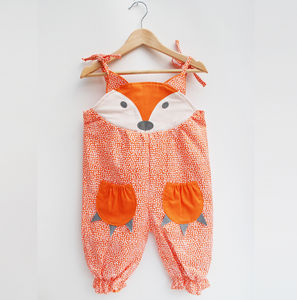 Fox Baby Summer Romper