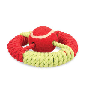 Marine Life Ring Rope Dog Toy