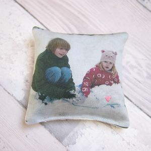Personalised Photo Lavender Pillow - decorative accessories