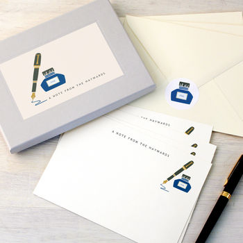 Personalised Pen And Ink Writing Set