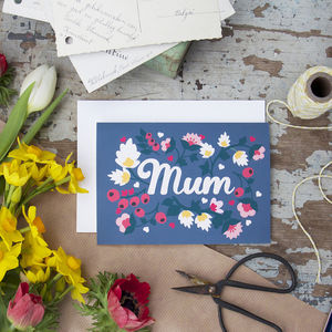 Mothers Day Hearts And Berries Card - mother's day cards & wrap