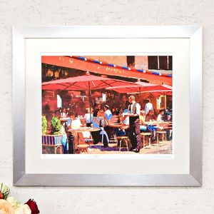 Le Repas, Paris Lunchtime Cafe, Print - posters & prints