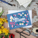 Mothers Day Hearts And Berries Card