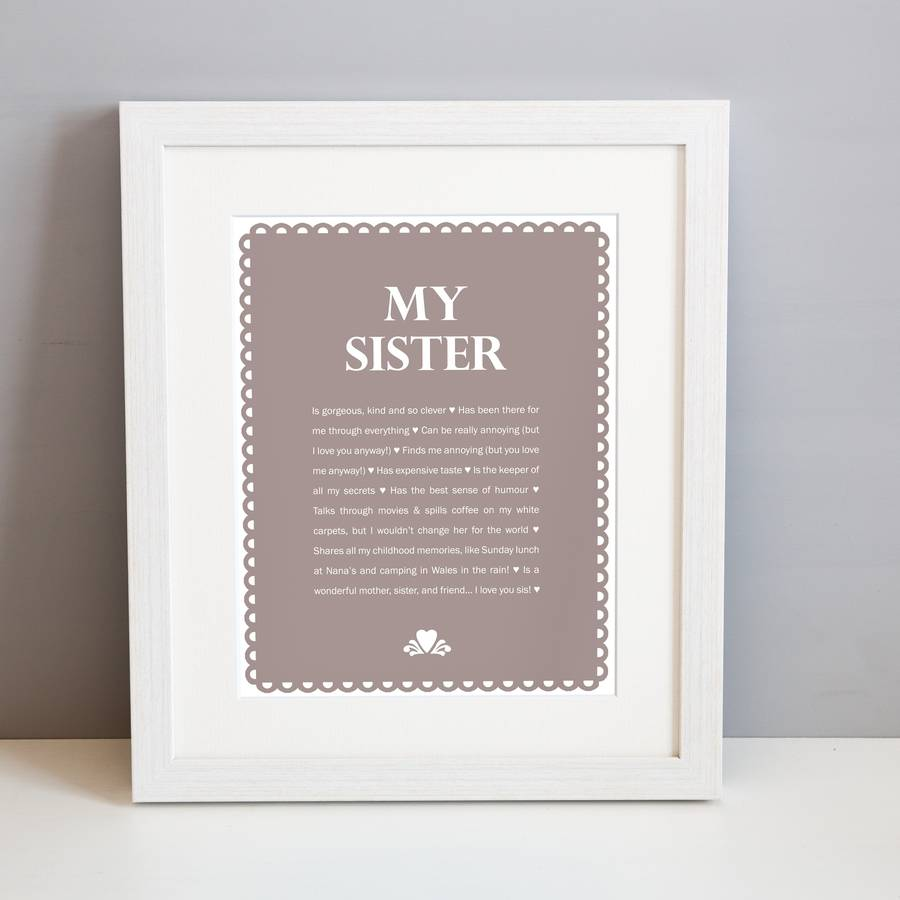 sister photo frames - 65000 Personalized Photo Frames