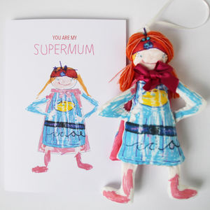 Personalised Supermum Card - personalised cards