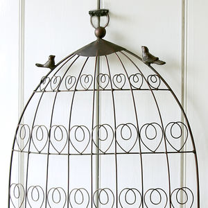 Birdcage Card Or Table Plan Holder - table plans
