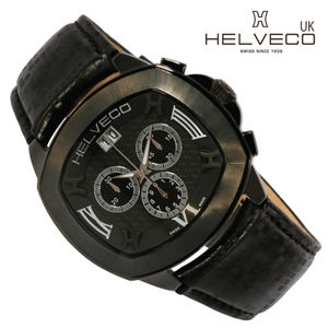 Lorcano All Black Sports Chronograph Watch - men's accessories
