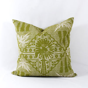 Aloes And Lace Cushion Cover