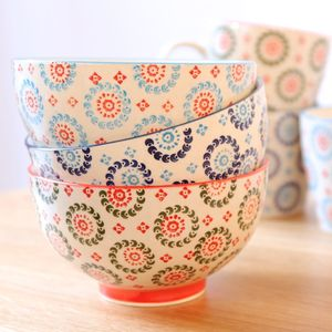 Bohemian Inspired Ceramic Bowl