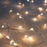 150 Indoor And Outdoor Wire Lights - christmas decorations