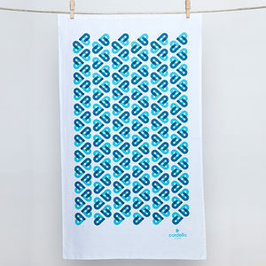 Cordello Heart Tea Towel