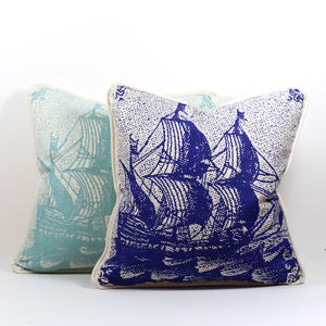 Classic Ship Cushion Covers