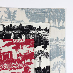 Toile Du Jozi Cushion Covers - bedroom