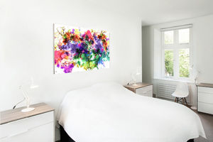 Multi Coloured Abstract Canvas Art - paintings & canvases