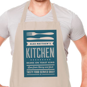 Dad's Kitchen Apron - baking