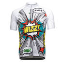 Cycling Jersey. Short Sleeve. Full Zip. Pop Art