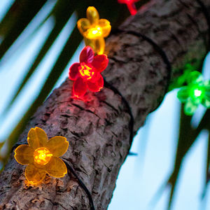 Blossom Flower Solar Lights - occasional supplies