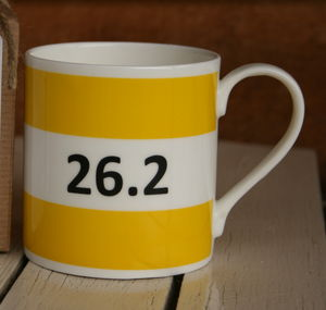 Marathon Fine Bone China Mug - sport-lover