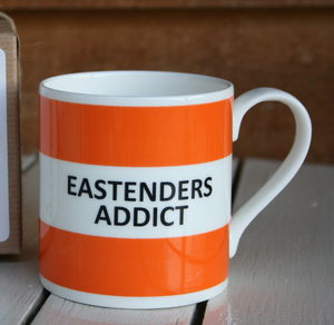 'Eastenders Addict' Fine Bone China Mug