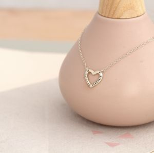 Personalised Sweet Heart Necklace