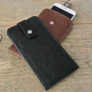 Leather iPhone 6s Case Various Colours - tech accessories for him