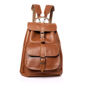 Iris Leather Backpack - backpacks